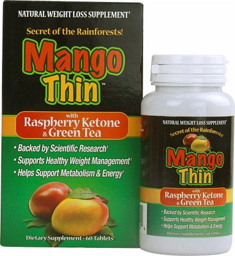 Windmill Health Products  Mango Thin™ with Raspberry Ketone and Green Tea Perspective: front