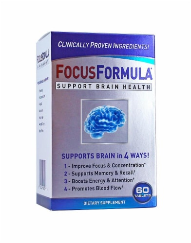 Focus Formula Dietary Supplement Perspective: front
