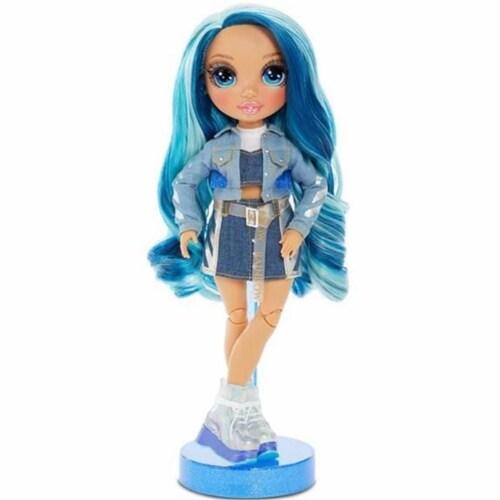 Rainbow High Skyler Bradshaw Blue Fashion Doll Perspective: front