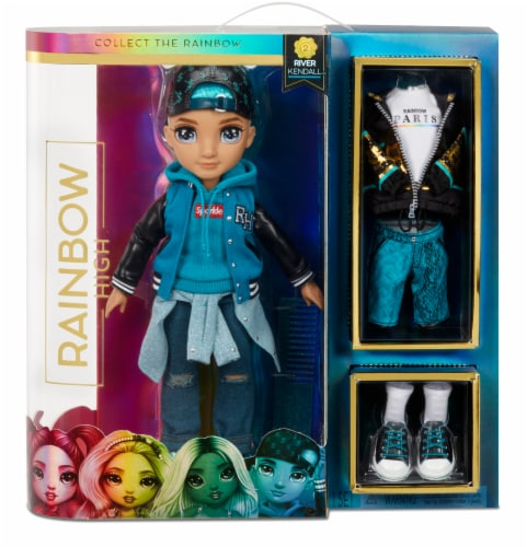 Rainbow High™ Fashion Doll - River Kendall Perspective: front