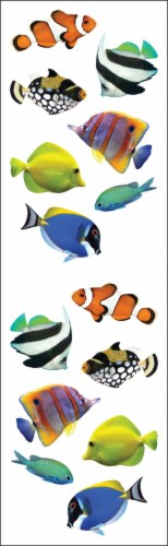 Mrs. Grossman's Stickers-Tropical Fish Perspective: front