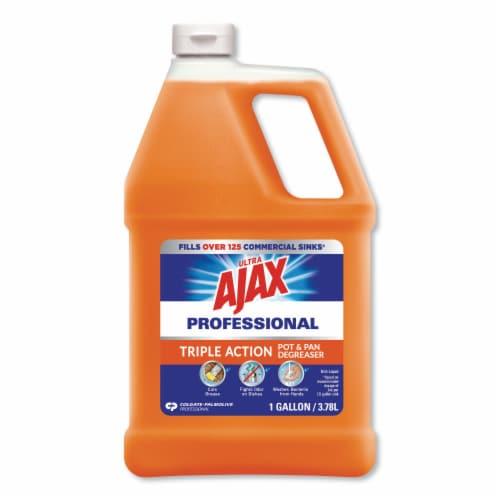 Ajax Dish Detergent, Citrus Scent, 1 Gal Bottle, 4/Carton 47219 Perspective: front