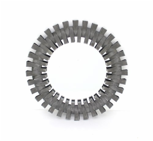 Industrial Gear-shaped Decorative Wall Mirror Perspective: front