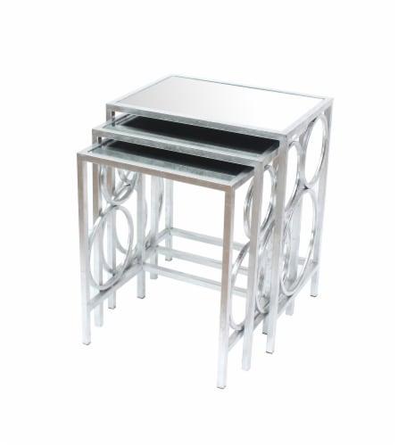 TETON HOME 3 PIECE NESTING  TABLE SET - AF-107 Perspective: front