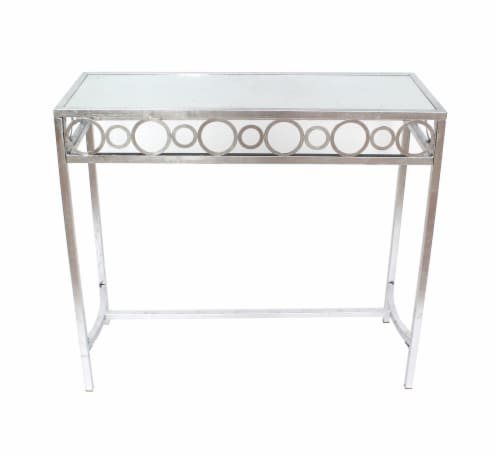 TETON HOME METAL CONSOLE TABLE - AF-108 Perspective: front