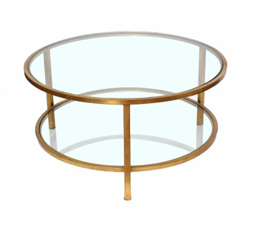 TETON HOME DOUBLE-LAYERED COFFEE TABLE - AF-119 Perspective: front