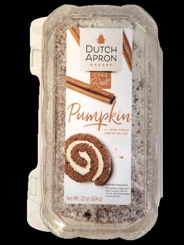 Dutch Apron Bakery Pumpkin Cake Roll Perspective: front