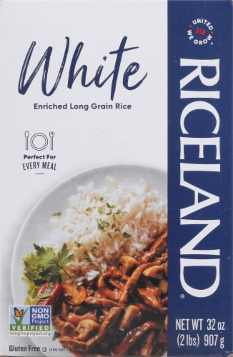 Riceland Enriched Long Grain White Rice Perspective: front