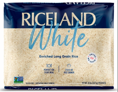 Riceland Extra Long Grain Rice Perspective: front