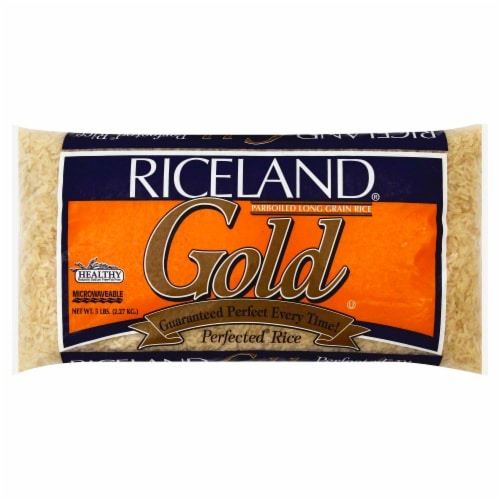 Riceland Gold Parboiled Rice Perspective: front