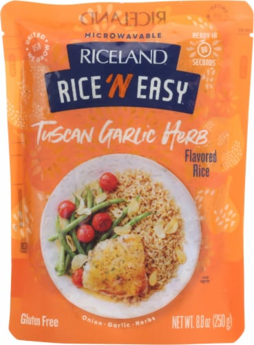 Riceland Rice 'N Easy Tuscan Garlic Herb Rice Perspective: front