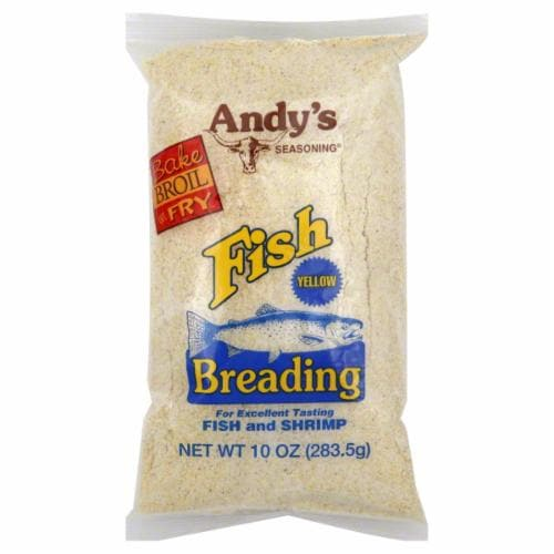 Andy's Yellow Fish Breading Perspective: front