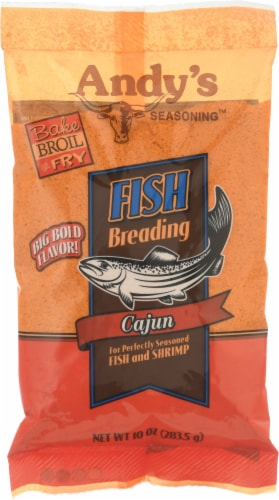 Andy's Cajun Fish Breading Perspective: front