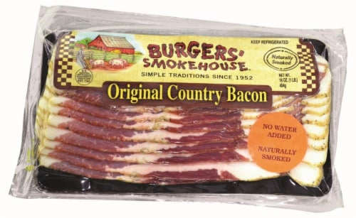 Burgers' Smokehouse Original Country Bacon Perspective: front