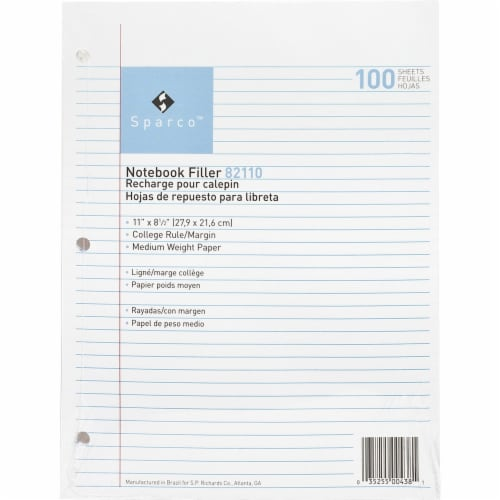 Sparco  Refill Writing Sheet 82110 Perspective: front