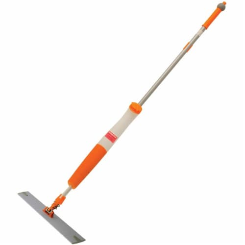 Genuine Joe GJO03127 Dispenser Mop with Disposable Pads, Orange Perspective: front