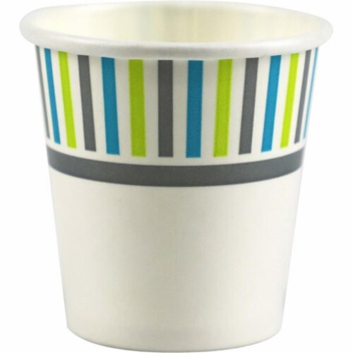 Genuine Joe GJO03161 3 oz Cold Paper Cups - Pack of 50 Perspective: front