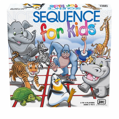 Jax Ltd Sequence for Kids Game Perspective: front