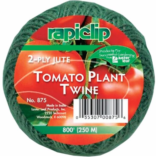 Rapiclip 800 Ft. Green Jute Plant Tie Tomato Twine 875 Perspective: front