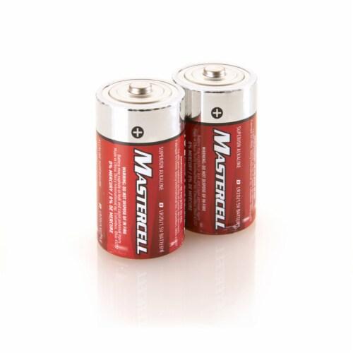 Dorcy Mastercell Pro Power D Alkaline Batteries Perspective: front
