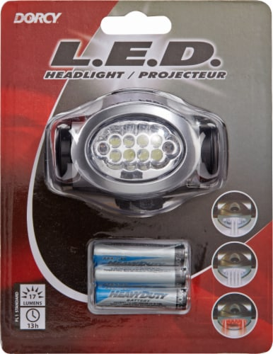 Dorcy 17-Lumen LED Headlight Perspective: front