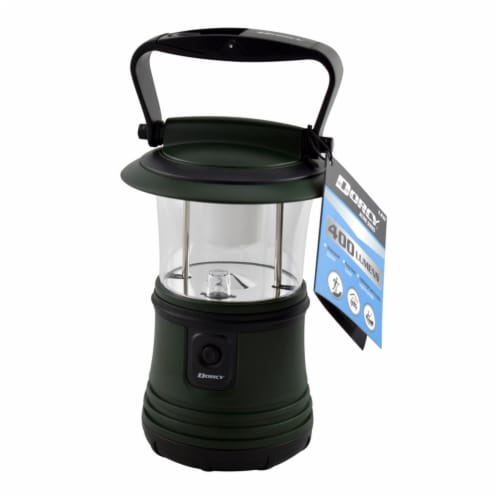 Dorcy LED Lantern - Green Perspective: front