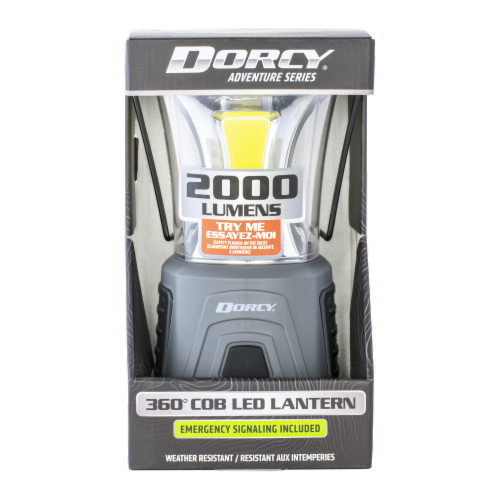 Dorcy® Adventure Series LED Lantern with Warning Light Perspective: front