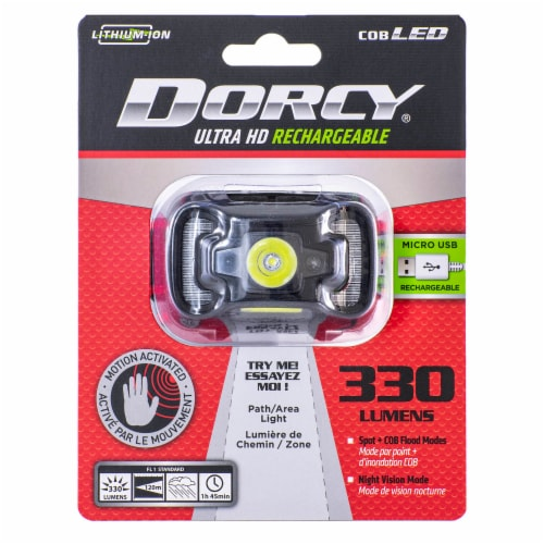 Dorsy Ultra HD Rechargeable Headlamp Perspective: front