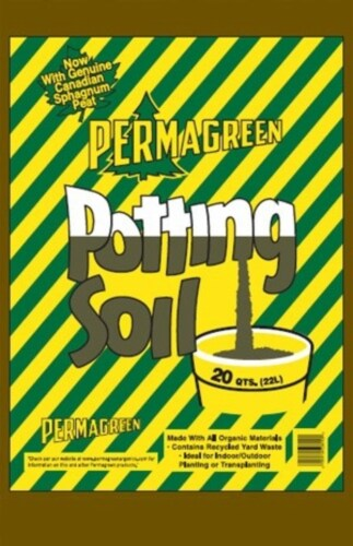 Permagreen Organic Outdoor Potting Mix Perspective: front