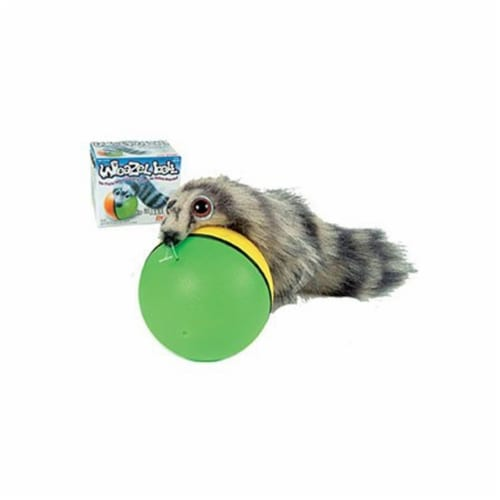 Weazel Ball - The Weasel Rolls with Ball Perspective: front