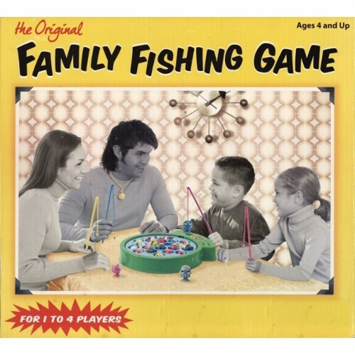 The Original Family Fishing Game (21 Pc) Perspective: front