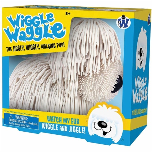Wiggle Waggle Dog - Walks, Barks and Jiggles When He Moves - Ages 5+ Perspective: front