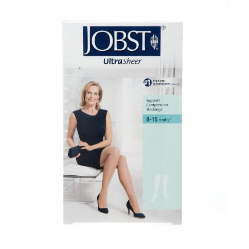 Jobst SupportWear Ultra Sheer Medium Beige Knee-High Hosiery Perspective: front