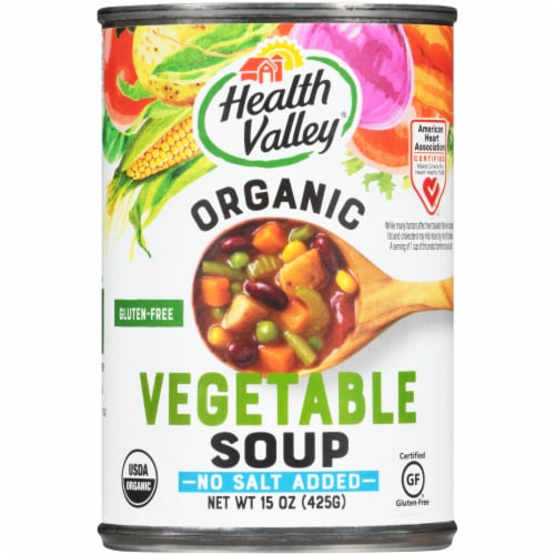 Health Valley Organic Vegetable Soup Perspective: front