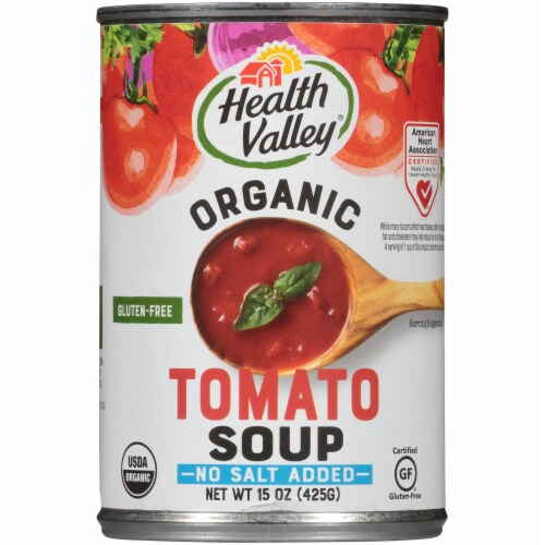 Health Valley Organic Tomato Soup Perspective: front