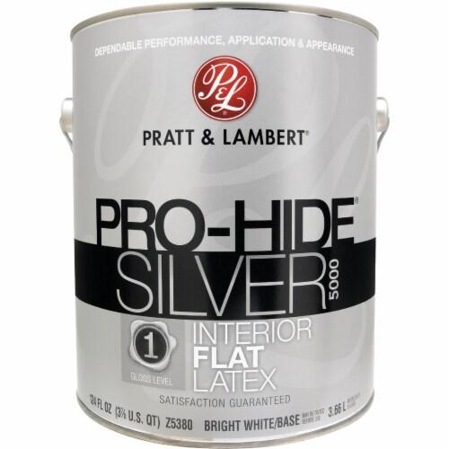 Pratt & Lambert Int Flt Bright Wht Paint 0000Z5380-16 Perspective: front