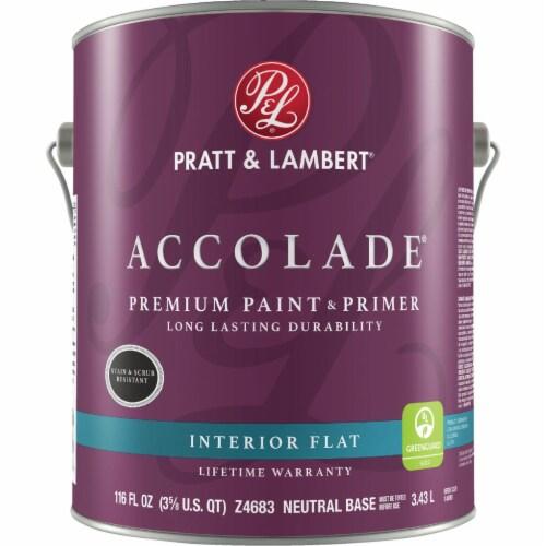 Pratt & Lambert Int Flat Neutrl Bs Paint 0000Z4683-16 Perspective: front