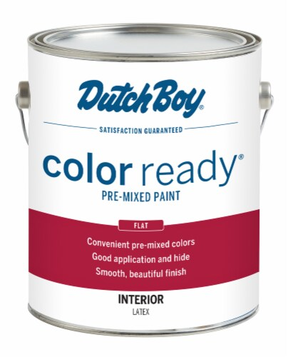 Dutch Boy Color Ready Flat Interior Pre-Mixed Paint - Muslin Perspective: front