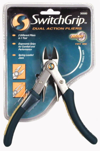 Allied Mini SwitchGrip Dual Jaw Pliers Perspective: front