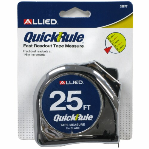 Allied QuickRule Fast Readout Tape Measure Perspective: front