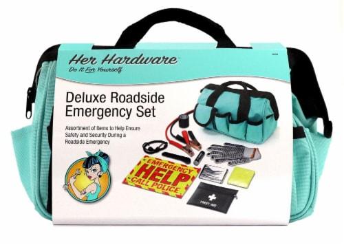 Her Hardware Deluxe Roadside Emergency Set Perspective: front