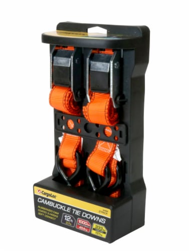 CargoLoc Cambuckle Tiedowns 2 Pack Perspective: front