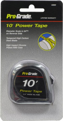 Pro-Grade® Tape Measure - 10 Foot Perspective: front
