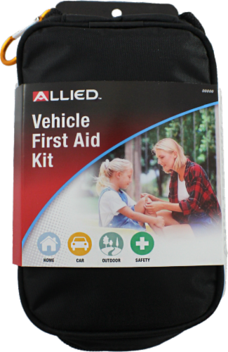 Allied Vehicle First Aid Kit Perspective: front