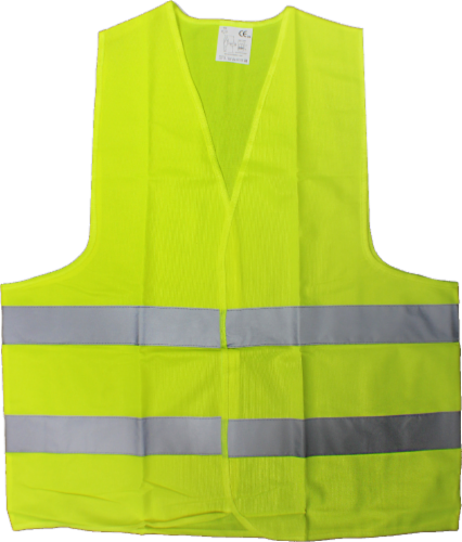 Allied Adult Safety Vest - Yellow Perspective: front