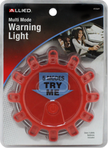 Allied Multi-Mode Warning Light - Red Perspective: front
