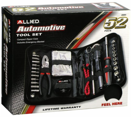 Allied Zippered Tool Set Perspective: front