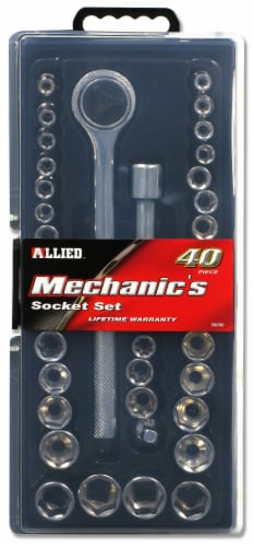 Allied Mechanic's Socket Set Perspective: front