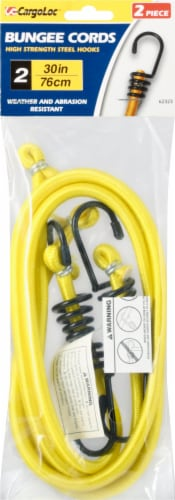 Allied Bungee Cords - 2 Pack - Yellow Perspective: front