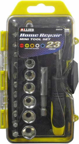 Allied 23-Piece Home Repair Mini Tool Set Perspective: front